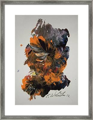 Hawii Morning Wake Framed Print by Edward Wolverton