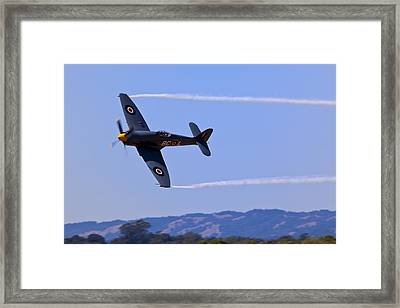 Hawker Sea Fury Framed Print by Garry Gay