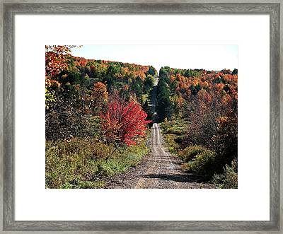 Framed Print featuring the photograph Hawks Rd by Christian Mattison