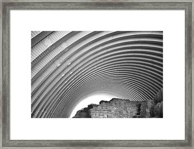 Hay House Framed Print by Betsy Knapp