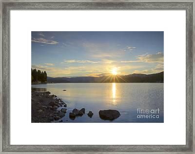 Hayden Sunrise Framed Print