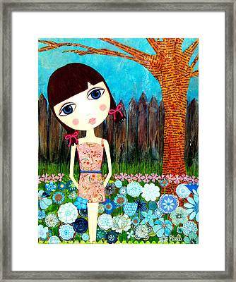 Hayli Framed Print by Laura Bell