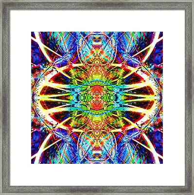 Hazard Framed Print by Christian Allen