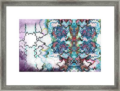 Hazed Dreams Framed Print