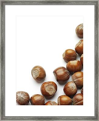 Hazelnuts Framed Print by Jon Stokes