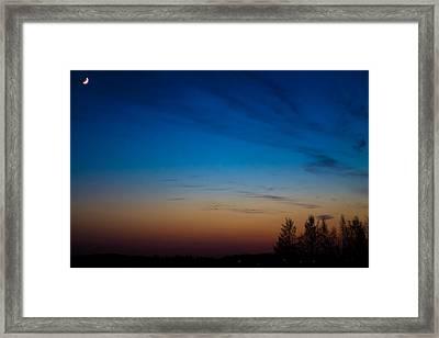 Framed Print featuring the photograph Hazynezz by Matti Ollikainen