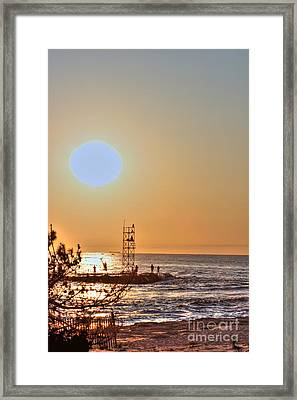 Hdr Seaview Oceanview Beach Beaches Ocean Sea Photos Pictures Photography Photo Pics Pictures Summer Framed Print by Pictures HDR