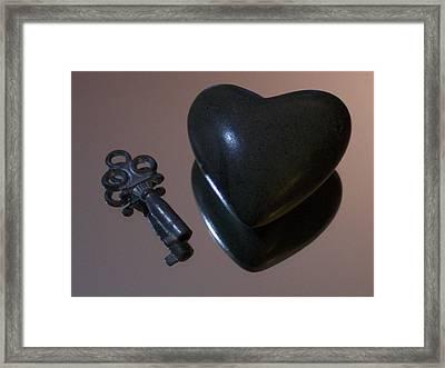 He Gave Me His Heart Framed Print