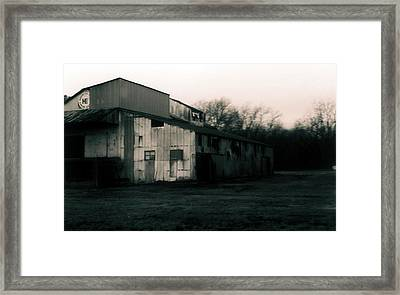 He Ginning Systems Framed Print