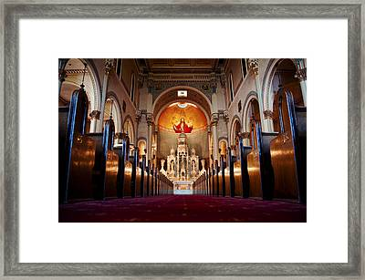 He Is Watching Over Framed Print by Anthony Citro