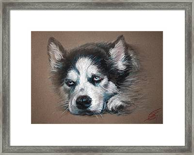 He Is Watching You  Framed Print