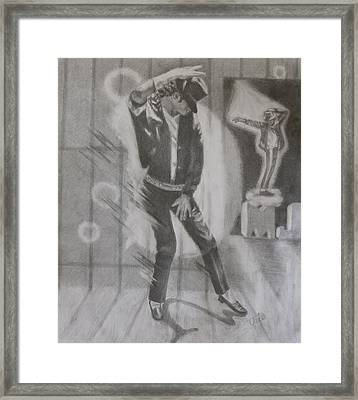 He Still Dances Framed Print by Joanna Gates