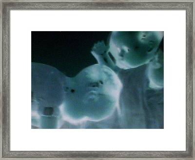 Head Butt Framed Print by Lee Thompson