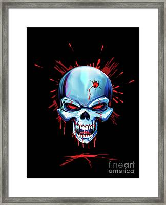 Head Shot Framed Print by Brian Gibbs
