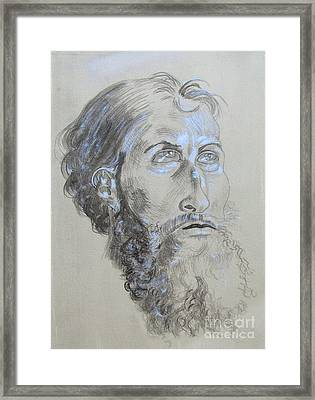 Head Study Of The Old Masters Framed Print