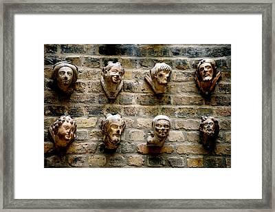 Head Wall Framed Print
