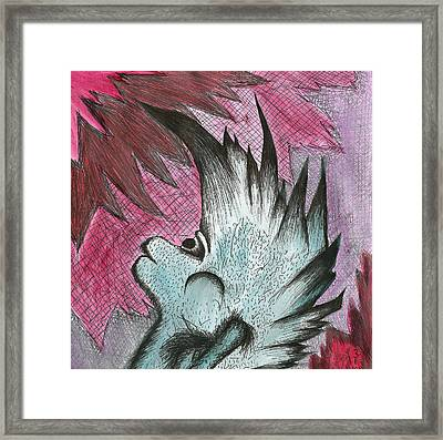 Headbanger Framed Print
