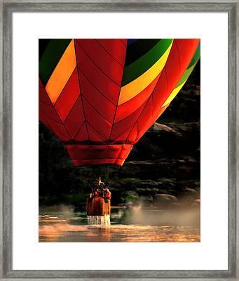 Heading Back Up Framed Print by Bob Orsillo