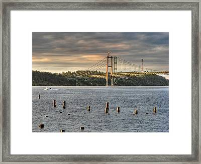 Framed Print featuring the photograph Heading Home by Chris Anderson