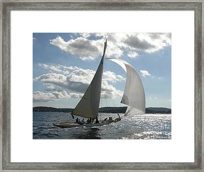 Heading Home Framed Print by Lainie Wrightson