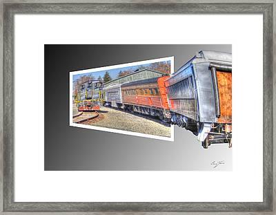 Heading In Framed Print by Barry Jones