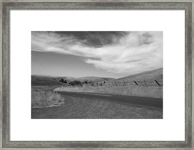 Framed Print featuring the photograph Heading Inland by Kathleen Grace