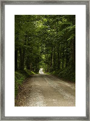 Heading Out Framed Print by Andrew Soundarajan