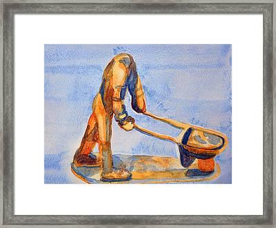 Headless Laborer Framed Print by Duwayne Washington