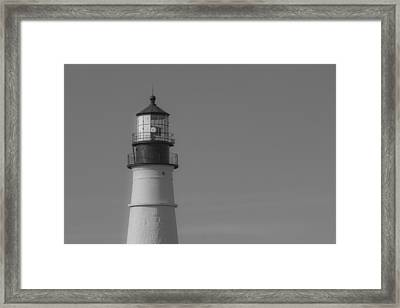 Headlight Framed Print by Robert Clifford