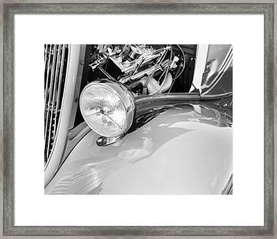 Headlights 5 Framed Print