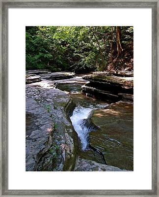 Framed Print featuring the photograph Headwaters by Christian Mattison
