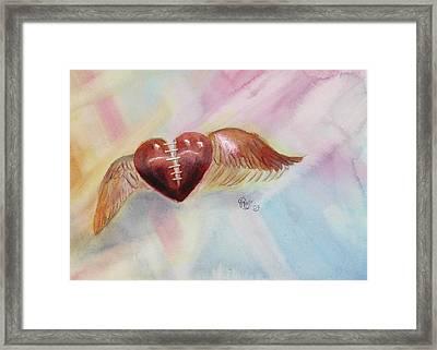 Healing A Broken Heart Framed Print