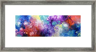 Healing Energies Framed Print