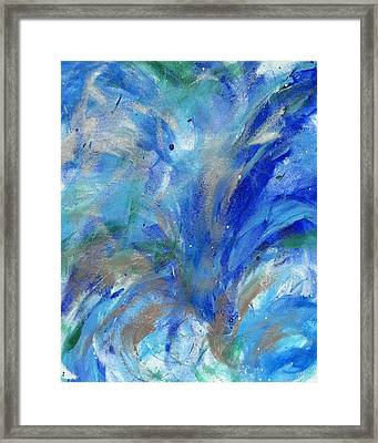 Healing Waves Framed Print by Bethany Stanko