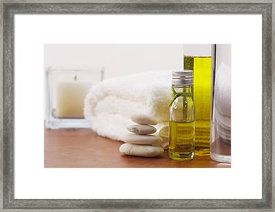 Health Spa Framed Print by Atiketta Sangasaeng