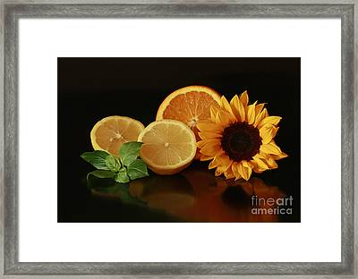 Healthy Food Matters Framed Print by Inspired Nature Photography Fine Art Photography