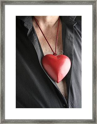Healthy Heart Framed Print