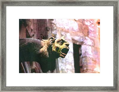 Hear No Evil Framed Print