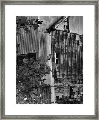 Framed Print featuring the photograph Hearns Feed Mill by Tamera James