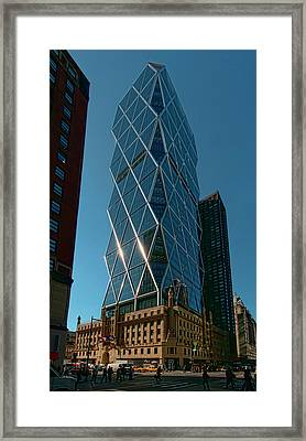 Hearst Building Framed Print