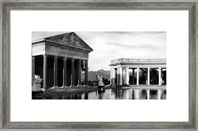Hearst Castle Pool Framed Print