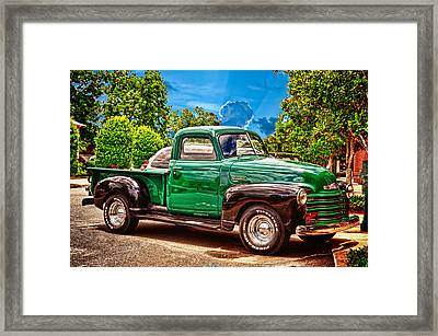 Heart Beat Is Still Beating Framed Print by Frank Feliciano