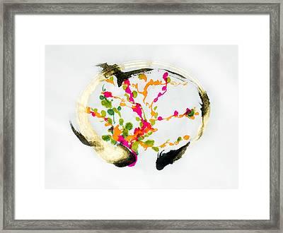 Heart Framed Print by Jinhyeok Lee