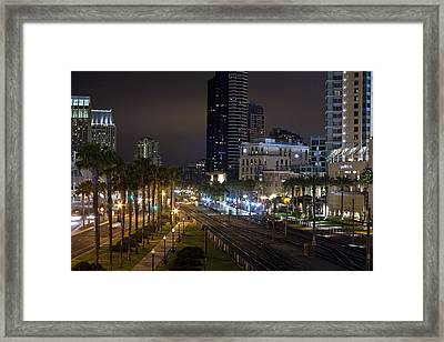 Heart Of The City Framed Print by Benjamin Street