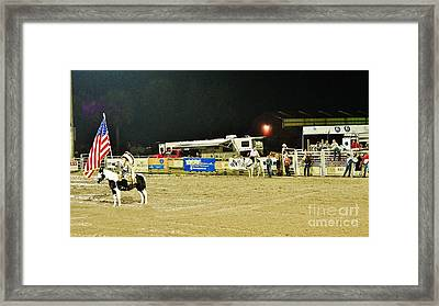 Heart Of The Rodeo Framed Print
