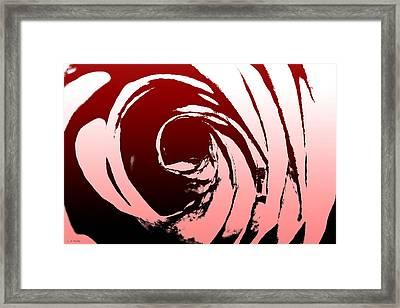 Heart Of The Rose Framed Print