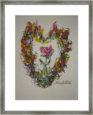 Heart Strings Framed Print by Edward Wolverton