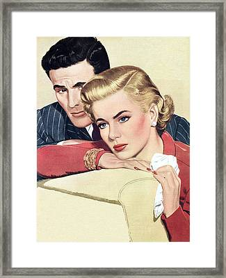 Heartache Framed Print by English School