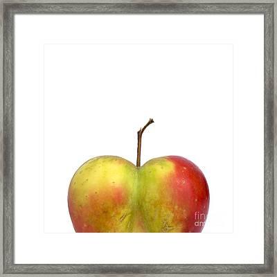 Heart.apple. Framed Print by Bernard Jaubert