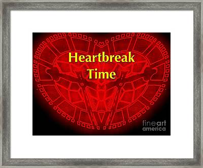 Framed Print featuring the photograph Heartbreak by Blair Stuart